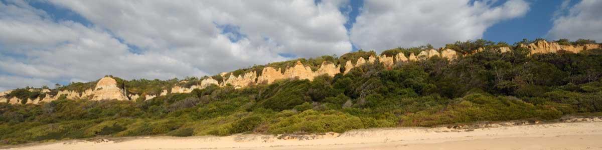 Arriba Fóssil der Costa da Caparica